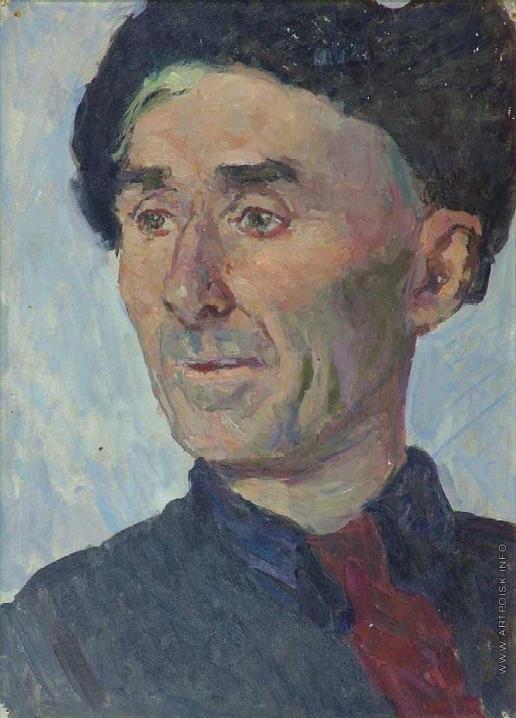 Герасимов С. В. Портрет художника Киселева