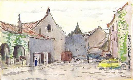 Герасимов С. В. Городок на юге Франции