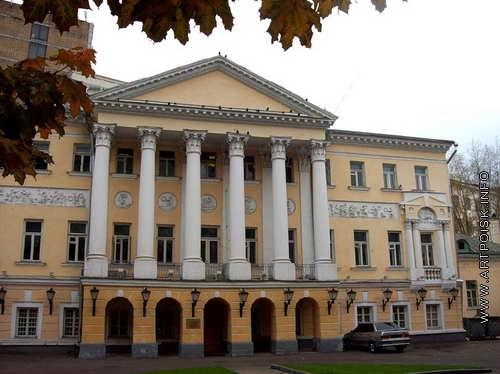 Казаков М. Ф. Дом Демидова в Гороховском переулке