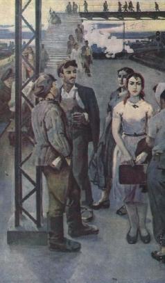 Абдуллаев А. Б. В ожидании поезда