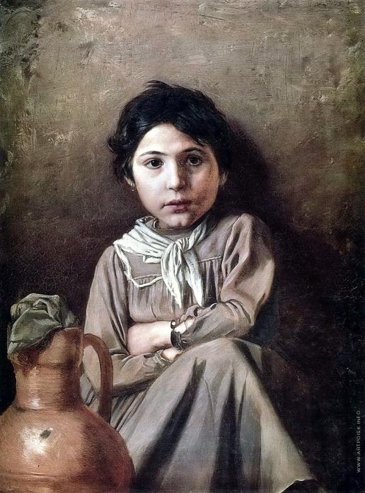 Перов В. Г. Девушка с кувшином