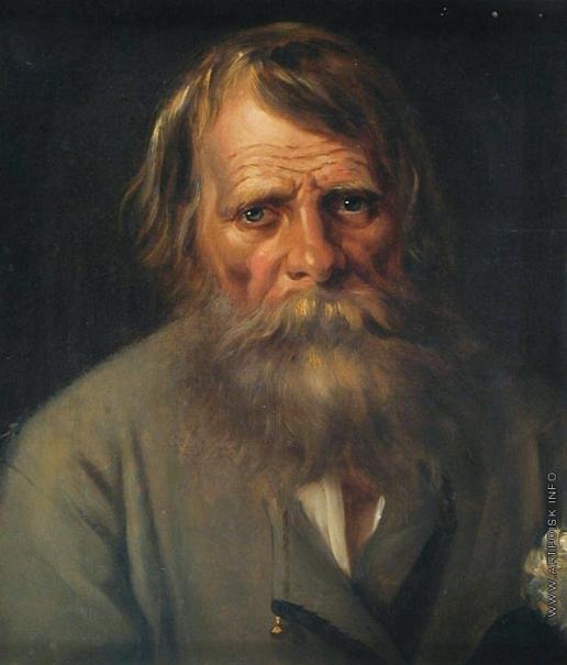Перов В. Г. Портрет крестьянина (мужской портрет)