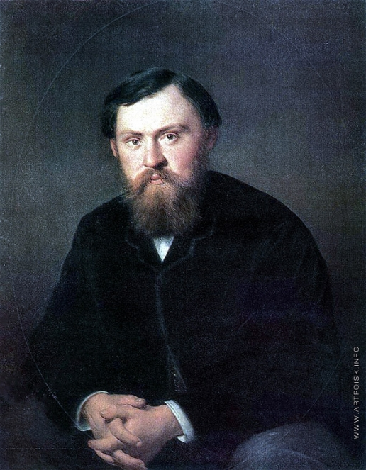 Перов В. Г. Портрет А.А. Борисовского