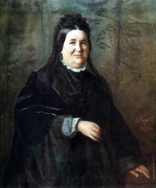 Перов В. Г. Портрет А.И. Криденер, урожденной Ивановой, матери художника