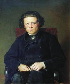 Перов В. Г. Портрет Антона Григорьевича Рубинштейна