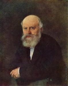 Перов В. Г. Портрет композитора П.С. Кампиони