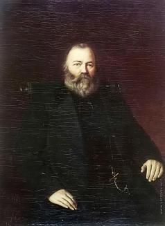 Перов В. Г. Портрет купца С.Т. Кузнецова
