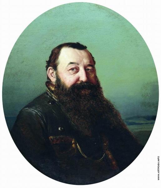 Перов В. Г. Портрет Н.Ф. Резанова