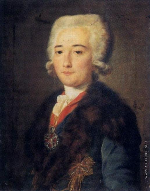 Шибанов М. Портрет графа А.М. Дмитриева-Мамонова