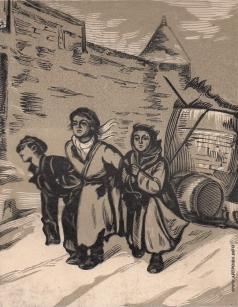 Маторин М. В. Иллюстрация к обложке книги «Перов»