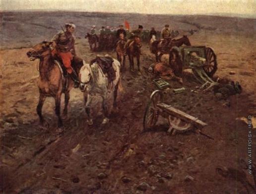 Греков М. Б. Отряд Будённого в 1918 году