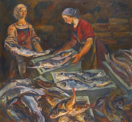 Кутилин В. А. Рыбный рынок