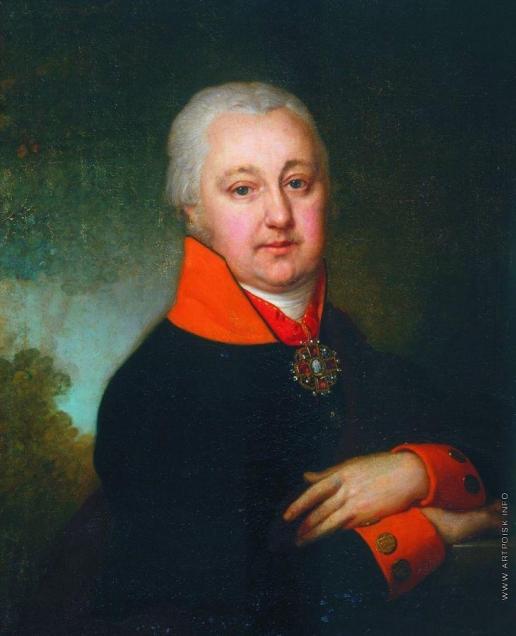 Боровиковский В. Л. Портрет Николая Михайловича Яковлева