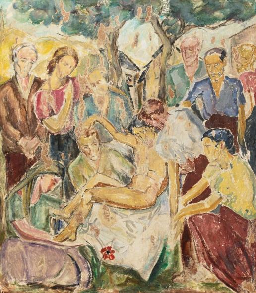 Мутермилх М. Погребение