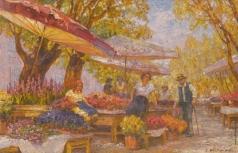 Вещилов К. А. Цветочный базар