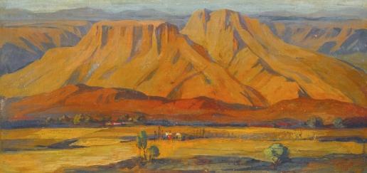 Сарьян М. С. Горная долина