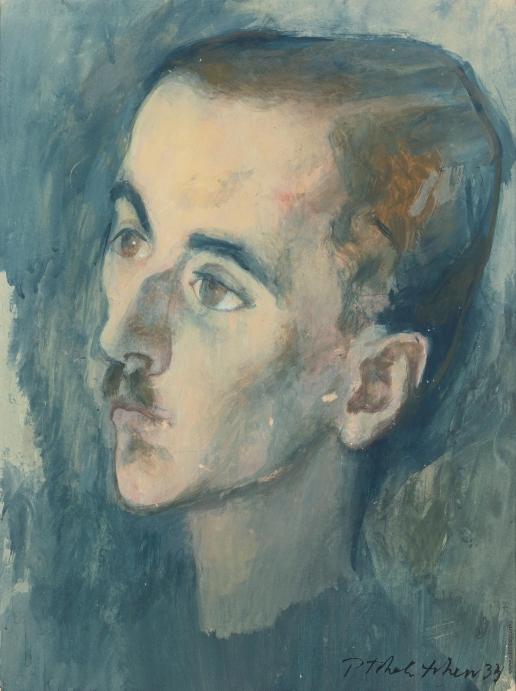 Челищев П. Ф. Мужской портрет