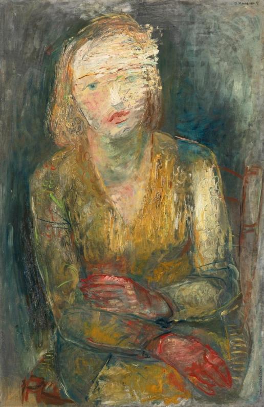 Анненков Ю. П. Женский портрет