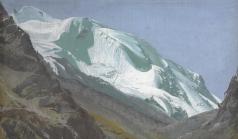 Яковлев А. Е. Ледник на Памире
