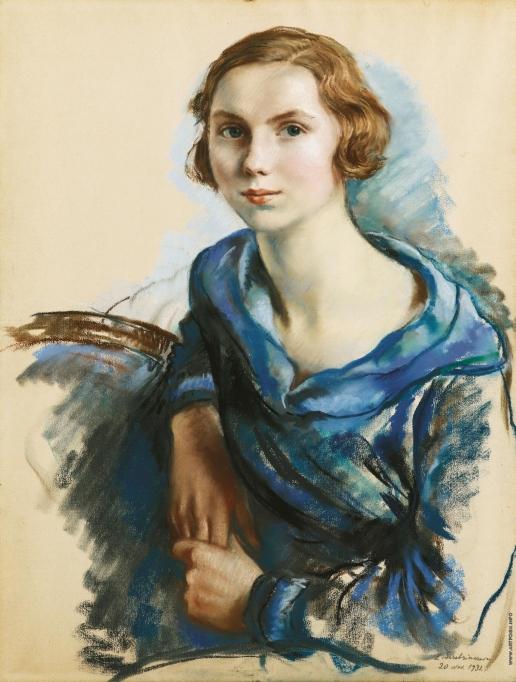Серебрякова З. Е. Портрет Марианны де Боувер