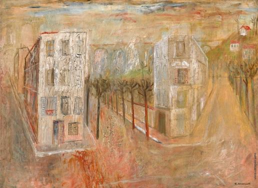 Анненков Ю. П. Два дома