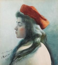 Бакст Л. С. Портрет девушки