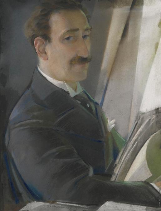Чехонин С. В. Портрет художника (Лев Бакст)