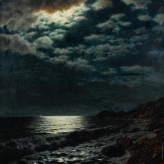 Шультце И. Ф. Море в лунном свете
