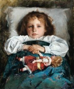 Трубецкой П. П. Портрет девочки с куклой