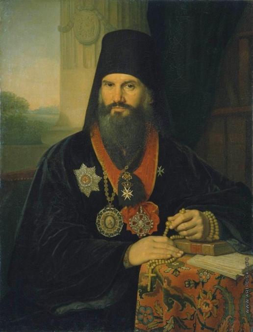 Боровиковский В. Л. Портрет архиепископа Михаила