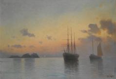 Ганзен А. В. Морской пейзаж