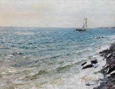 Дубовской Н. Н. Яхта на море
