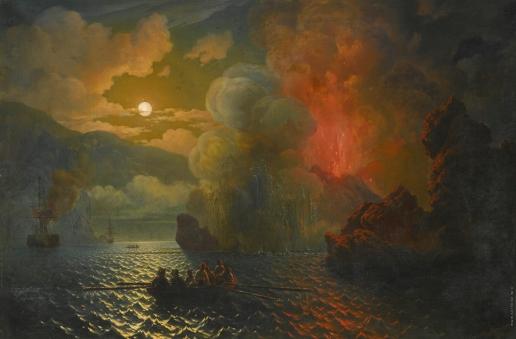 Красовский Н. П. Извержение Везувия