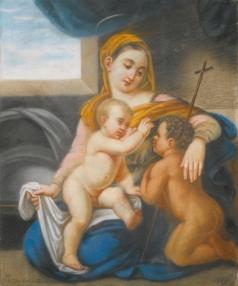 Бугаевский-Благодарный И. В. Мадонна с младенцем