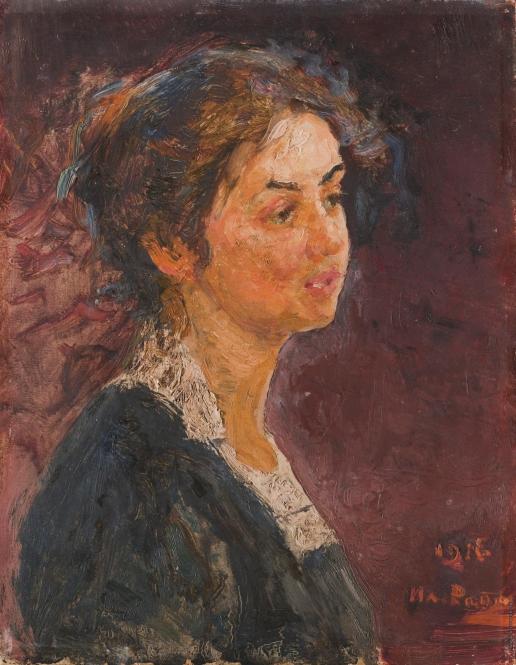 Репин И. Е. Портрет молодой девушки