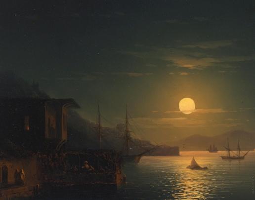 Айвазовский И. К. Лунный свет на Босфоре