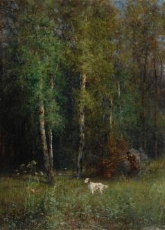 Похитонов И. П. Охота в лесу