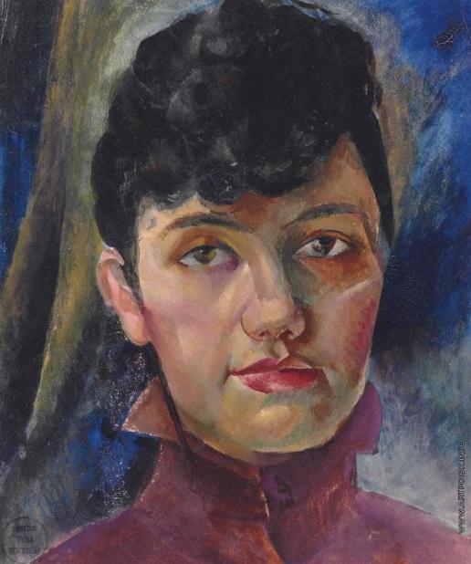 Рохлина В. Н. Автопортрет