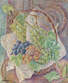 Маревна М. Б. Натюрморт с виноградом