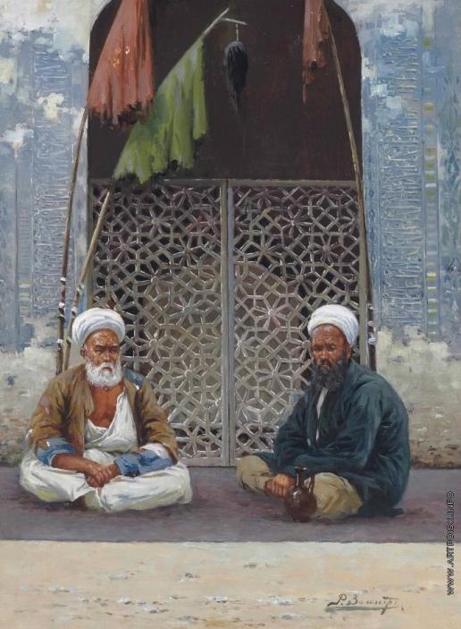 Зоммер Р. К. Мечеть в Туркестане