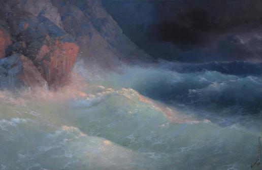 Айвазовский И. К. Буря на Черном море