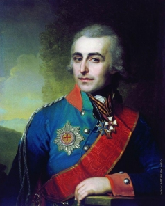 Боровиковский В. Л. Портрет генерал-адъютанта графа Петра Александровича Толстого