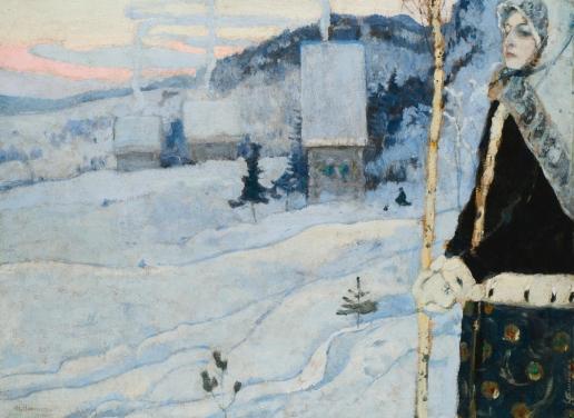 Нестеров М. В. Зима
