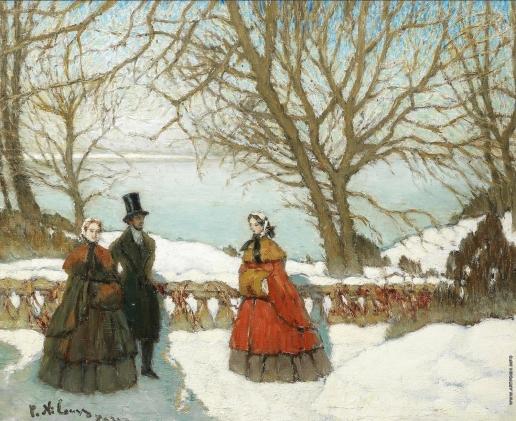 Нилус П. А. В один прекрасный зимний день