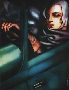 Лемпицка Т. Б. Автопортрет в зеленом Бугатти