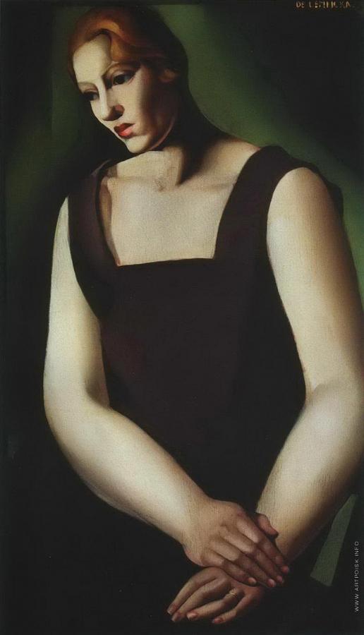 Лемпицка Т. Б. Усталость. (Портрет женщины)