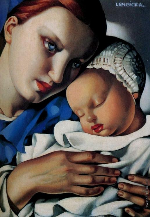 Лемпицка Т. Б. Мать и дитя