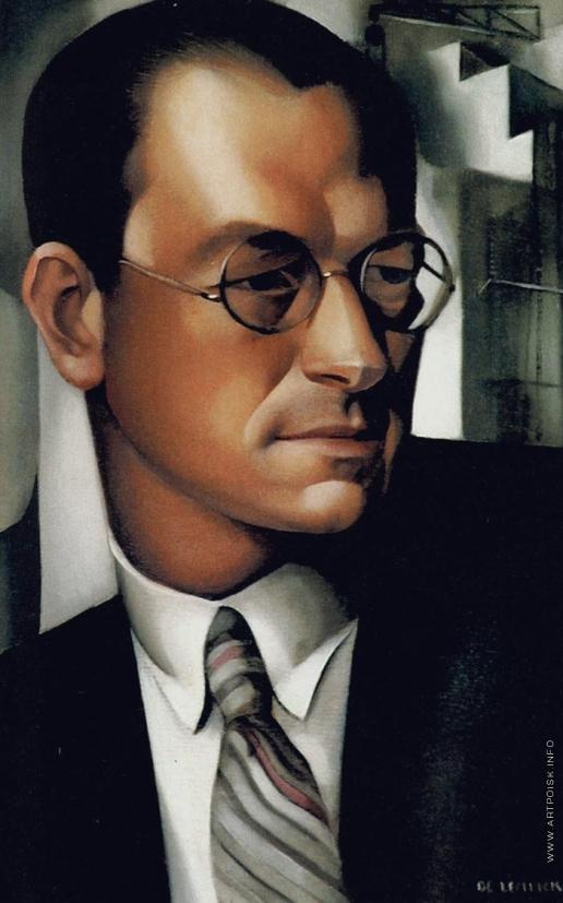 Лемпицка Т. Б. Портрет Пьера Де Монто