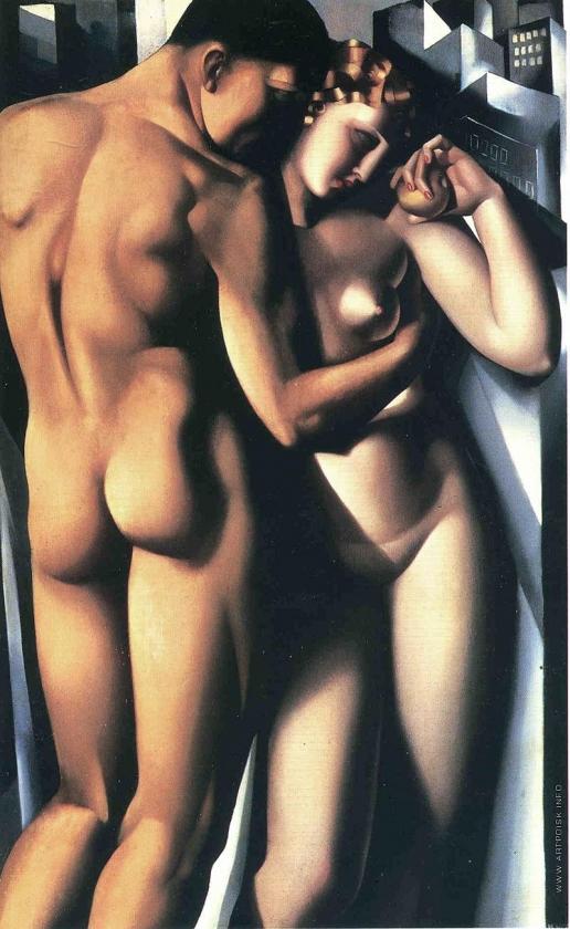 Лемпицка Т. Б. Адам и Ева
