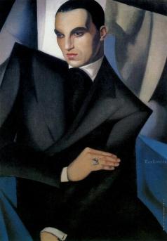 Лемпицка Т. Б. Портрет маркиза Сомми